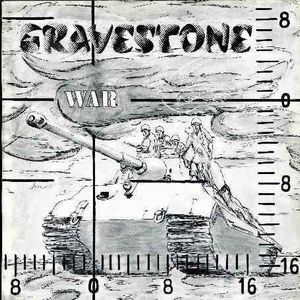 Gravestone - War CD (album) cover