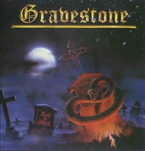 Gravestone - Back To Attack CD (album) cover