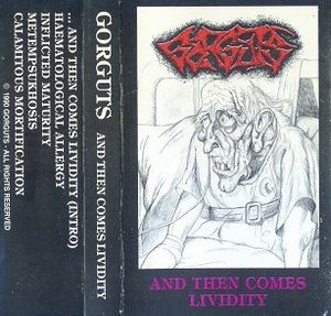 Gorguts - ...and Then Comes Lividity CD (album) cover