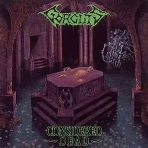 Gorguts - Considered Dead CD (album) cover