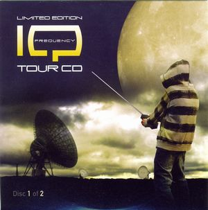 IQ - Frequency Tour CD album cover