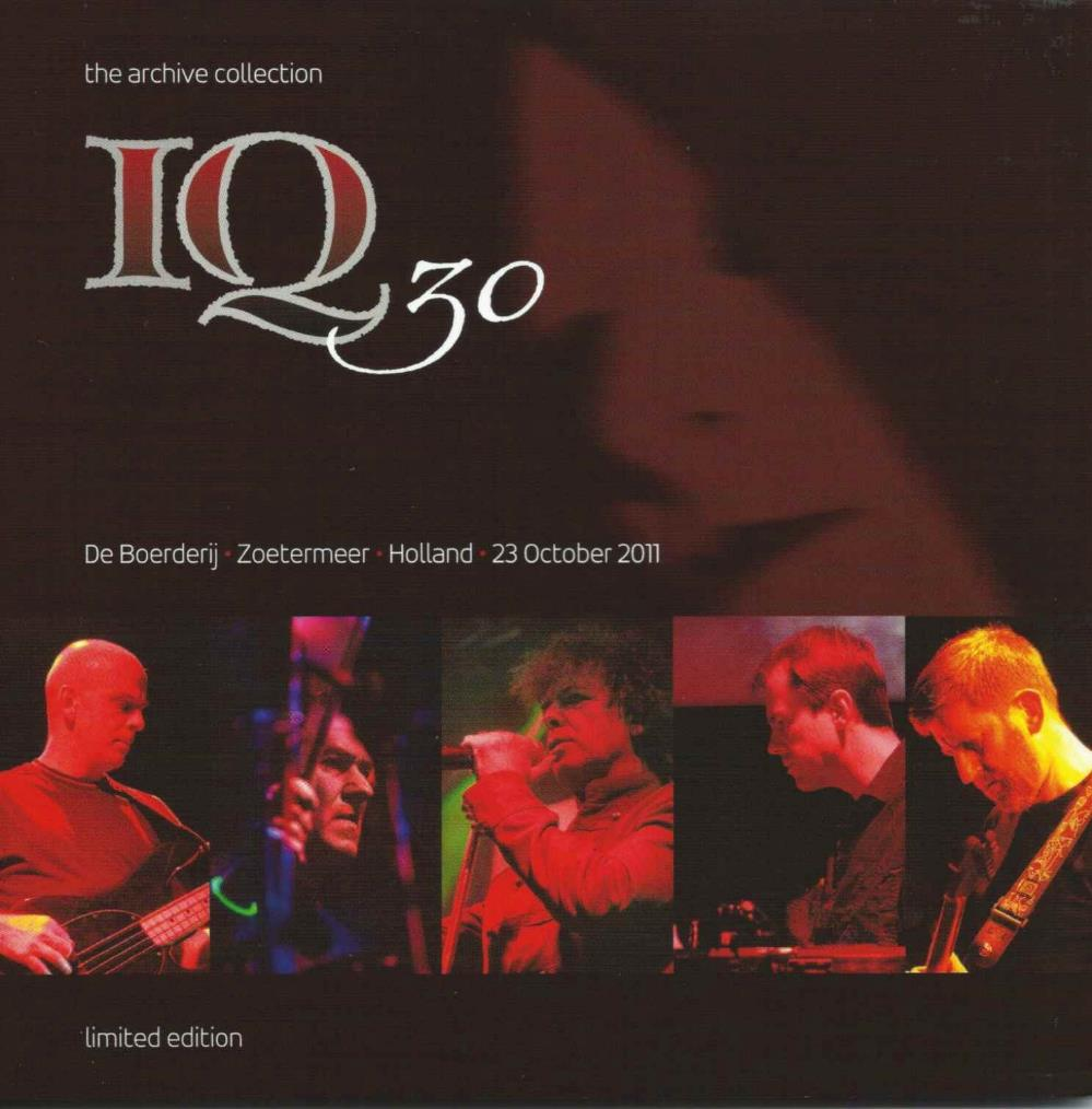 Iq - De Boerderij Zoetermeer Holland 23 October 2011 CD (album) cover