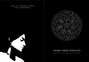 Gnaw Their Tongues - Constructing Enochian Temples / Mary Magdalene CD (album) cover