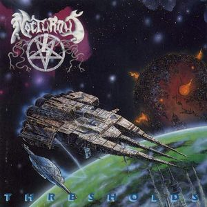 Nocturnus - Thresholds CD (album) cover