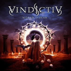 Vindictiv - World Of Fear CD (album) cover