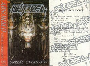 Absorbed - Unreal Overflows CD (album) cover