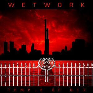 Wetwork - Temple Of Red CD (album) cover