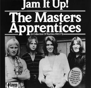 The Masters Apprentices - Jam It Up! A Collection Of Rarities 1965-1973 CD (album) cover