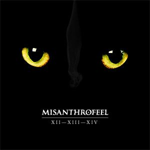 Misanthrofeel - Xii-xiii-xiv CD (album) cover