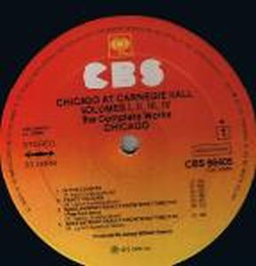 Chicago - At Carnegie Hall CD (album) cover
