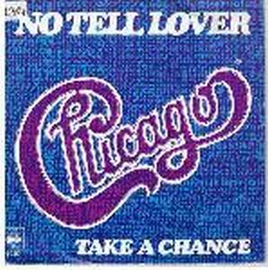 Chicago - No Tell Lover / Take A Chance CD (album) cover