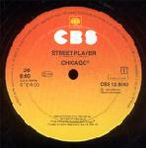 Chicago - Street Player CD (album) cover
