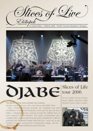 Djabe - Slices Of Live - Concert Dvd DVD (album) cover
