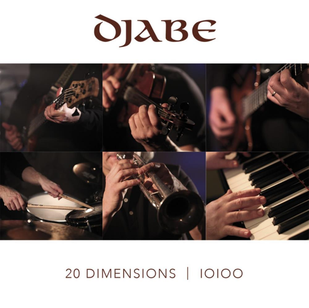 Djabe - 20 Dimensions CD (album) cover