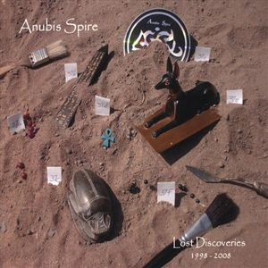 Anubis Spire - Lost Discoveries 1998-2008 CD (album) cover