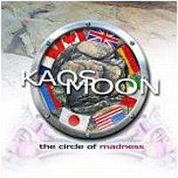 Kaos Moon - The Circle Of Madness CD (album) cover