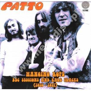 Patto - Hanging Rope - Bbc Sessions And Rare Tracks (1970-1971) CD (album) cover