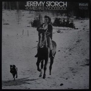 Jeremy Storch - 40 Miles Past Woodstock CD (album) cover