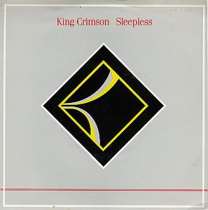 King Crimson - Sleepless CD (album) cover