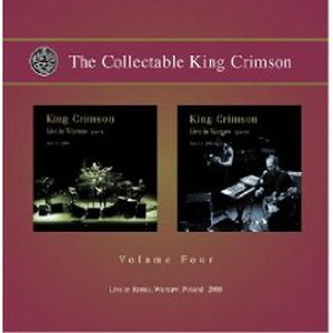 King Crimson - The Collectable King Crimson, Volume 4 CD (album) cover