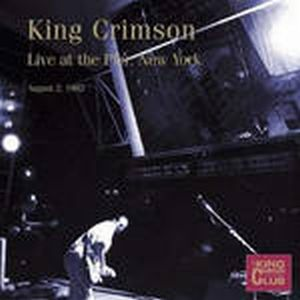 King Crimson - Live At The Pier, Nyc - August 2 , 1982 CD (album) cover