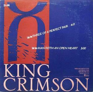 King Crimson - Three Of A Perfect Pair CD (album) cover
