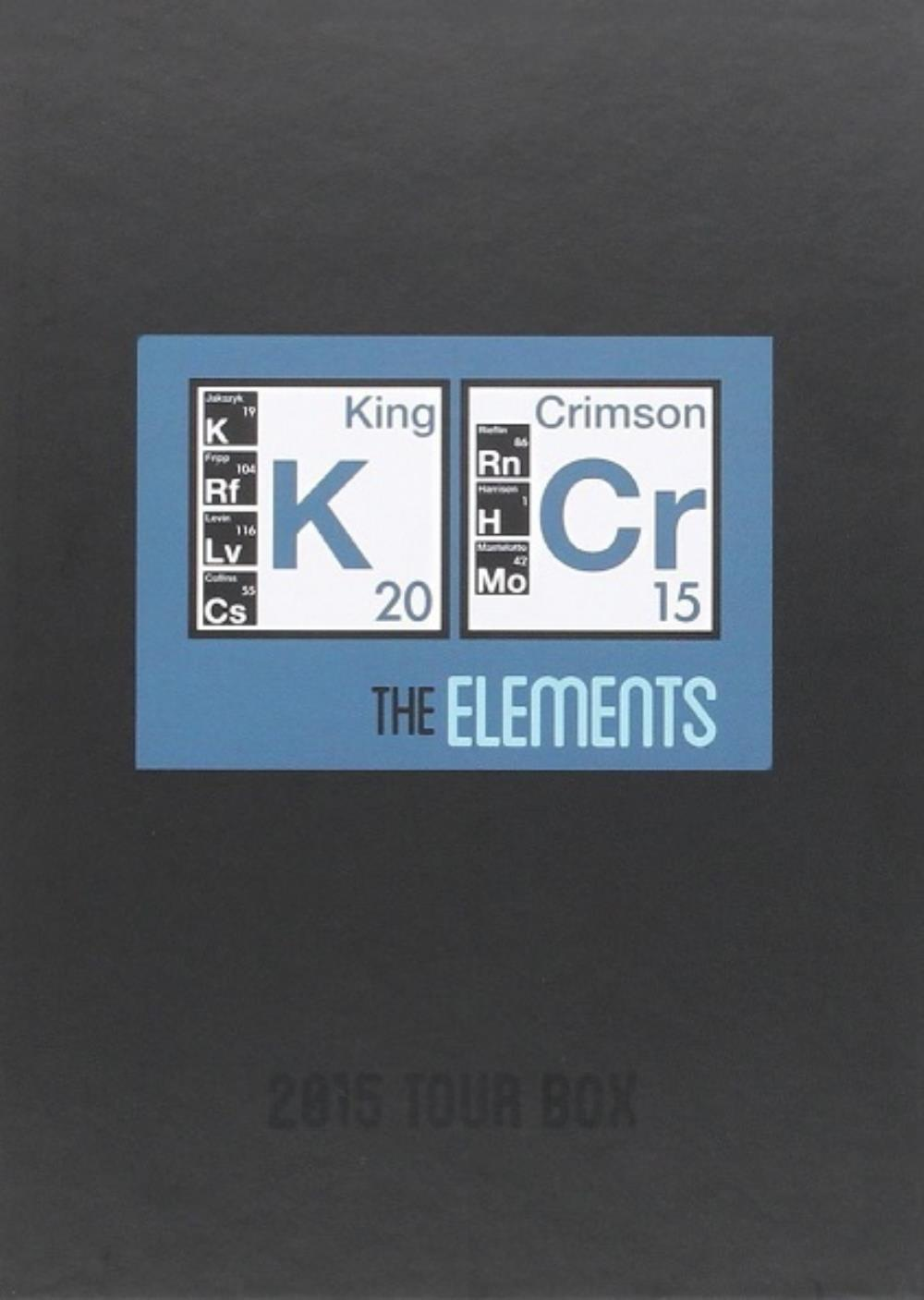 King Crimson - The Elements (2015 Tour Box) CD (album) cover