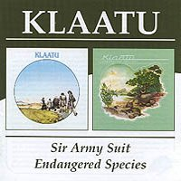 Klaatu - Sir Army Suit / Endangered CD (album) cover