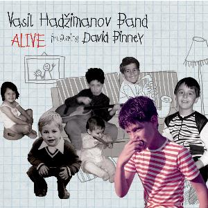 Vasil Hadzimanov Band - Alive CD (album) cover