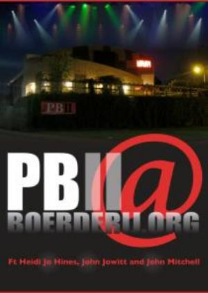 Pbii Pbii@boergerij.org CD album cover