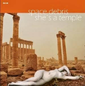 Space Debris - She's A Temple CD (album) cover