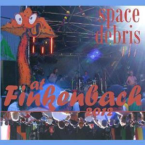 Space Debris - Live At Finkenbach 2012 CD (album) cover