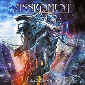 Assignment - Inside Of The Machine CD (album) cover