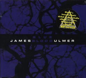 James Blood Ulmer - Blue Blood CD (album) cover