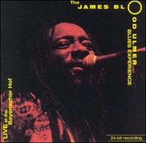 James Blood Ulmer - Live At The Bayerischer Hof CD (album) cover
