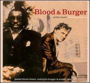 James Blood Ulmer - Guitar Music (with Rodolphe Burger) CD (album) cover