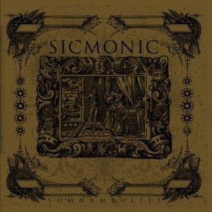Sicmonic - Somnambulist CD (album) cover