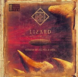 Lizard - Destruction And Little Pieces Of Cheese CD (album) cover