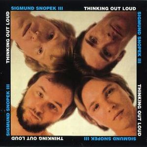Sigmund Snopek Iii - Thinking Out Loud CD (album) cover