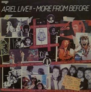 Ariel - Live!! - More From Before CD (album) cover