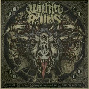 Within The Ruins - Omen CD (album) cover