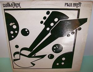 PAUL BRETT - Guitar Trek CD album cover