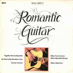 Paul Brett - Romantic Guitar CD (album) cover