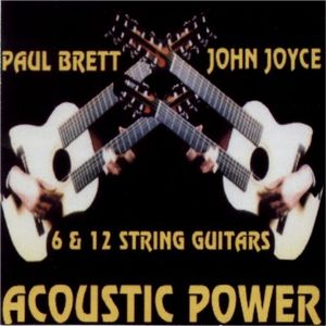 Paul Brett - Acoustic Power (with Johnny Joyce) CD (album) cover
