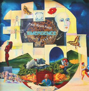 Paul Brett - Emergence CD (album) cover