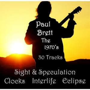 Paul Brett - The 1970s CD (album) cover