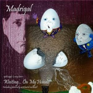 Madrigal (usa) - 1988-1996 A Compilation Waiting... On My Hands CD (album) cover