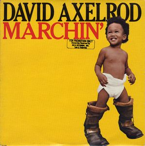 David Axelrod - Marchin' CD (album) cover