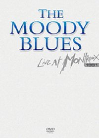 THE MOODY BLUES - Live At Montreux 1991 CD (album) cover