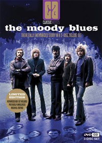 The Moody Blues - Classic Artists: The Moody Blues DVD (album) cover